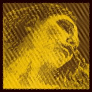 Mi violon EVAH PIRAZZI GOLD boule tirant medium (3154)