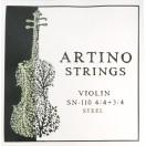 JEU violon 4/4-3/4 - ARTINO - acier (SN-110-4)