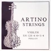 JEU violon 4/4-3/4 - ARTINO - perlon (SN-120-4)