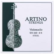 JEU violoncelle 4/4 - ARTINO - acier (SN-160)