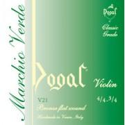 Mi acier bronze 4/4 - 3/4 Marchio Verde moyen DOGAL (V21)