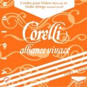 JEU violon ALLIANCE VIVACE CORELLI forte avec Mi boucle (800F)