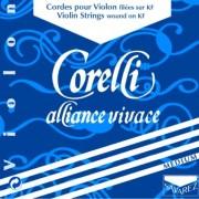JEU violon ALLIANCE VIVACE CORELLI avec Mi boucle Médium (800M)